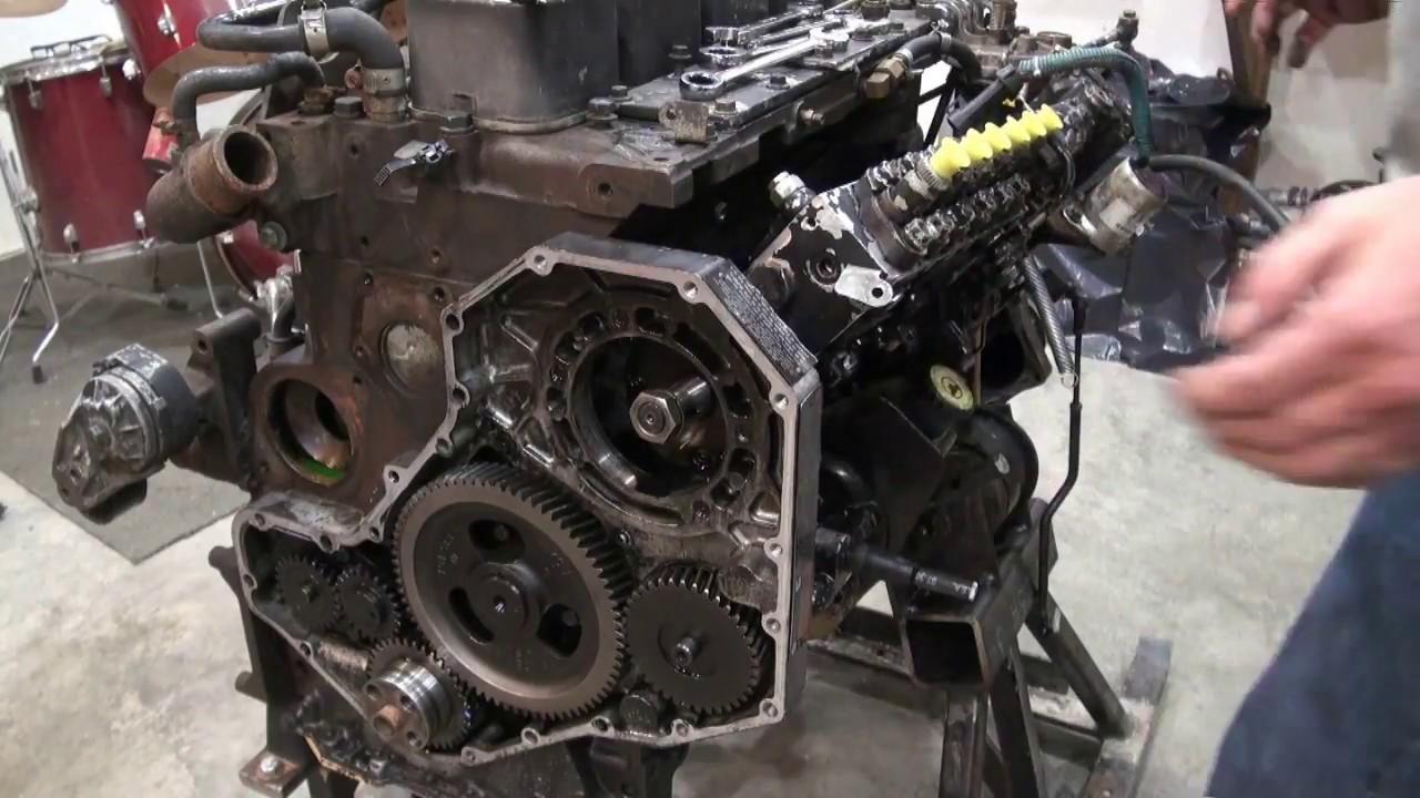 Dodge 12 Valve Injector Pump Removal