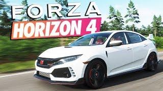 Zagrajmy w FORZA HORIZON 4 PL #28 - HONDA CIVIC TYPE R 2018 ❤️❤️