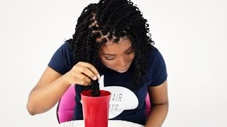 Kinky Twists How To Curl & Seal Your Ends Tutorial Part 4 of 7