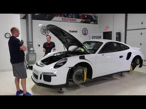 Epic GT3 RS Detail at Esoteric: E13 - Suntek Ultra | Hood Install
