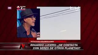 Eduardo Lucero habló de su contacto con seres de otros planetas