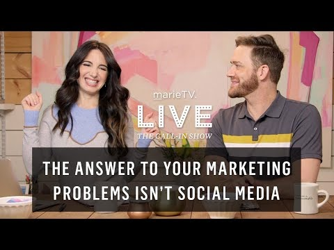 How To Find Your Target Market & Build A Local Targeted Audience   MarieTV Live Call-In Show