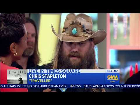 "Chris Stapleton sings ""More of You"" Live December 2015 plus interview. HD"
