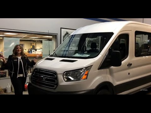 2017 ford transit wagon t 350 high roof xlt passenger v doovi. Black Bedroom Furniture Sets. Home Design Ideas