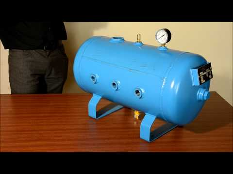 Air Pig Horizontal Air Receiver