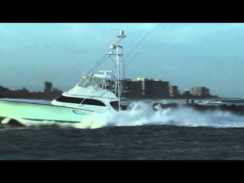 Sport Fishing Boat Running Hard 01122013-1