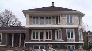 Как выглядит дом из керамзитобетона утеплённый по технологии мокрый фасад EIFS