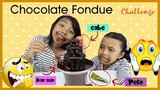 CHOCOLATE FOUNTAIN CHALLENGE INDONESIA KIDS EDITION