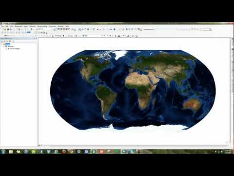 How to add a basemap to ESRI ArcMap 10 - YouTube