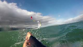 Kitesurfing race gets SMASHED by 56 knot winds