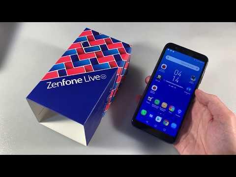 Обзор Asus ZenFone Live (L2) (ZA550KL)