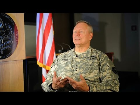 Army Gen. Frank Grass discusses the National Guard State Partnership Program