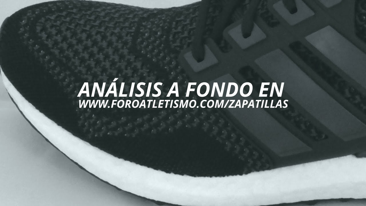 best website 34d88 97338 Adidas Ultra Boost REVIEW. Foroatletismo