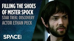 Filling the Shoes of 'Mr. Spock' - Ethan Peck of 'Star Trek: Discovery'