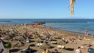 Tenerife 2016 Playa De Fanabe Beach - Playa de la Americas [4K]