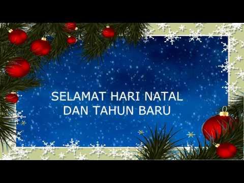 Selamat Hari Natal Dan Tahun Baru Lagu Natal Anak Sekolah Minggu Youtube