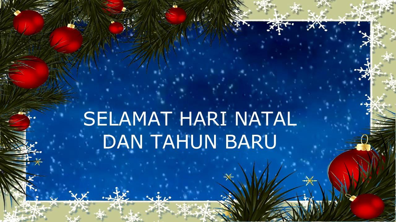 Selamat Hari Natal dan Tahun Baru - Lagu Natal Anak