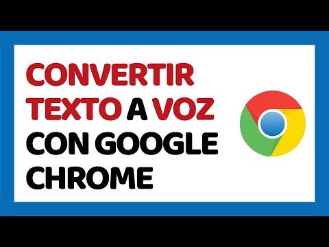 🔴 Cómo Convertir Texto A Voz Con Google Chrome 2019