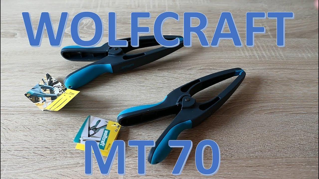 Spitzfederzwingen Wolfcraft MT 70