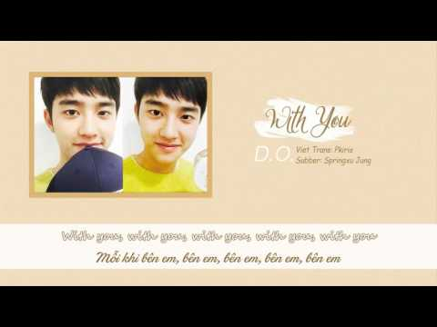 [Lyric + Vietsub] Predebut - EXO D.O. - With You (Cover)