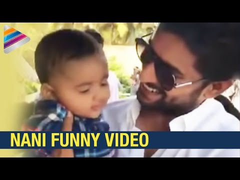 Nani Funny Video with Kid | Latest Funny Videos 2017 | Ninnu Kori Movie | Telugu Filmnagar