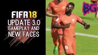 FIFA 18 PÓS ATUALIZAÇÃO 1.04   O JOGO FICOU RUIM? 💩