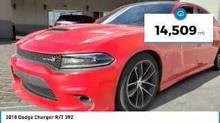 2018 Dodge Charger 2018 Dodge Charger R/T 392 FOR SALE in Las Vegas, CA MK687B