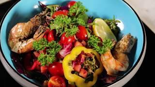 Kempinski at Home: Raspberry Vinaigrette Shrimp Salad Recipe 艾斯巴赫虾仁沙拉配树莓汁