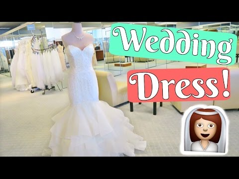 WEDDING DRESS ALTERATIONS FIRST APPOINTMENT! WEDDING DRESS SHOPPING VLOG PART 2!