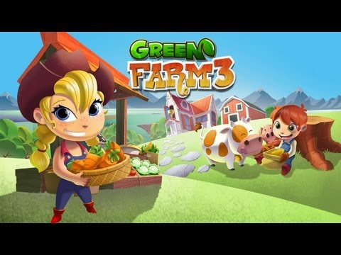 Green Farm 3 - Mobile Game Trailer