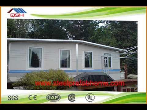 Yaoda light steel sandwich panel prefabricated house - Sandwich panel homes ...