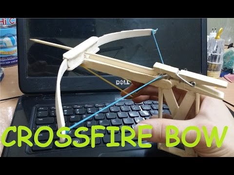 Generation 3 - How To Make A Popsicle Crossfire Bow | Mini Bow