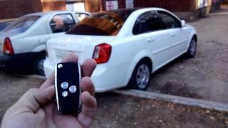 Выкидной ключ для Daewoo Gentra/Chevrolet Lacetti(Для изготовления полноценно работающего выкидного ключа для Daewoo Gentra потребуется: 1. Установить бюджетную..., 2014-10-26T12:44:47.000Z)