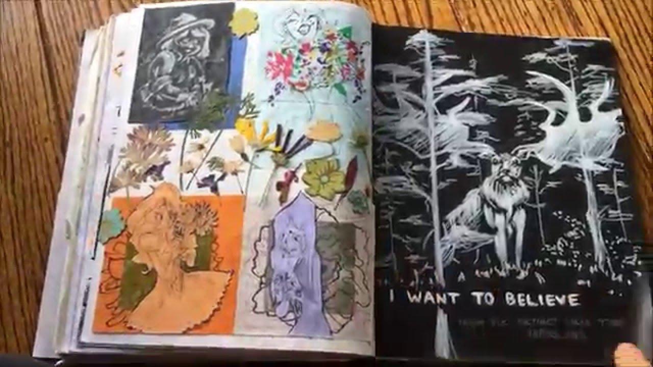 My Calarts Sketchbook 2016 [REJECTED]
