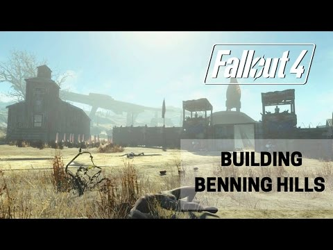 Fallout 4: Building Benning Hills Part 1