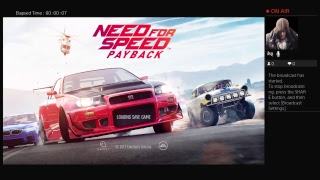 Need for Speed Payback chill stream
