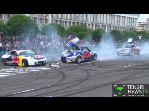 F1 Coulthard, Ukrainian drifters and ultimate need for speed in Almaty