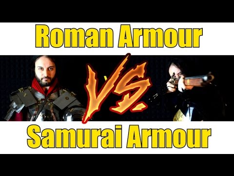 Samurai Armour VS Roman Armour