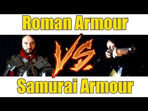Samurai Armour VS Roman Armour