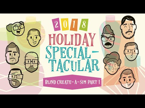 Giant Bomb Holiday Specialtacular: Blind Create-A-Sim Part 1