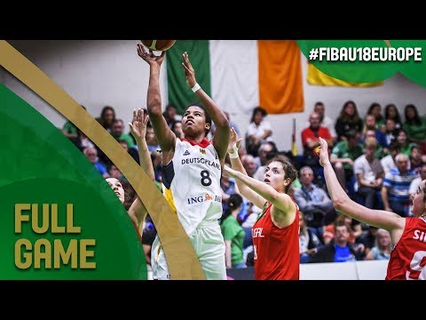 Germany v Portugal - Full Game - Quarter-Final - FIBA U18 Women's European Championship 2017 - DIV B