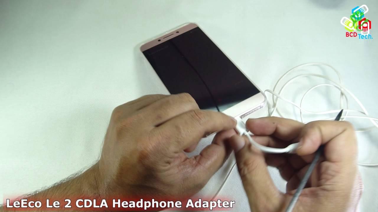 LeTv LeEco Le 2 CDLA Headphone Adapter