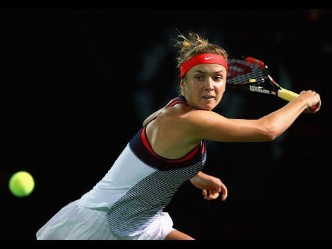 2016 Dubai Duty Free Tennis Championships Second Round | Elina Svitolina vs Muguruza | Highlights