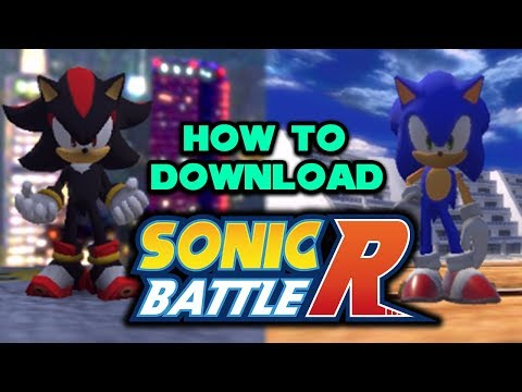 How To Download & Setup Sonic Battle R (Free To Play Online Racing Game)
