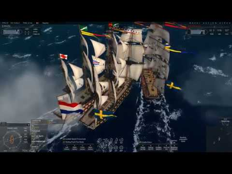 Naval Action:PvP-Cabal Boarding Fleet v Dutch 1st rates and escorts.