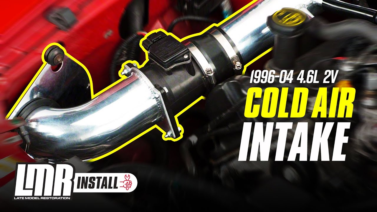 Mustang Cold Air Intake Installation Sve 96 04 Gt 4 6l 2v Youtube