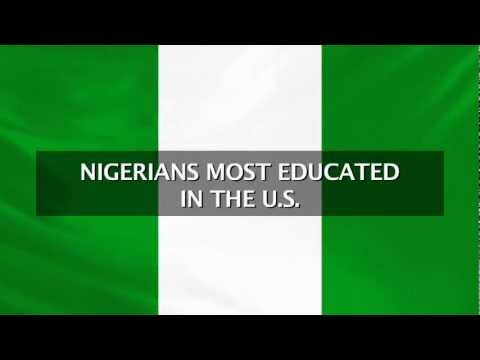 Nigerians Most Educated in the US