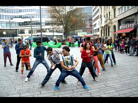 Dusseldorf Bollywood Flash Mob