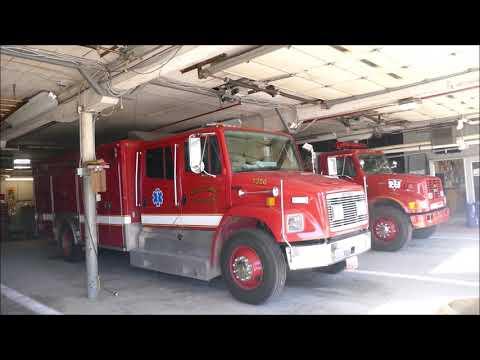 Milo Fire Department responds to a barn fire