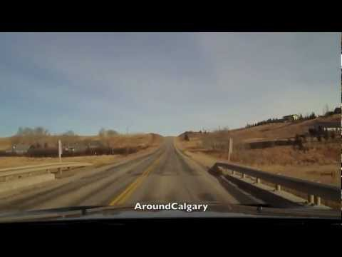 Drive From Calgary to Airdrie - The Back Way